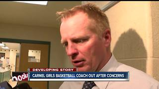 Carmel High School girls basketball coach is terminated - Video