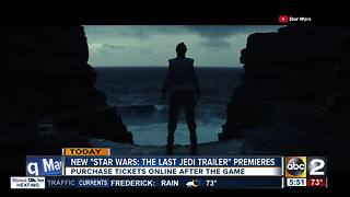 New Star Wars trailer premieres Monday