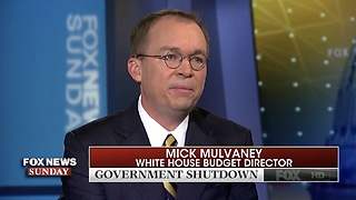 Obama Weaponized 2013 Government Shutdown; Mulvaney Says We Won't Do That! - Video
