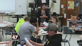 Charlotte teacher wins first Excellence in Education award of the year - Video