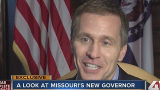 A look at Missouri's new governor - Video