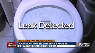 Common water wasters exposed - Video