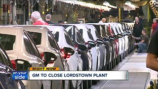 Community devastated after announcement that General Motors Lordstown plant to stop production