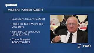 FMPD searching for Porter Albert