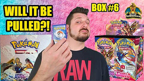 Sword & Shield Booster Case (Box 6) | Pokemon Opening