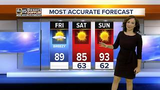 Cooler weekend ahead in Arizona - Video