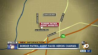 Border Patrol agent arrested in North San Diego County on drug, weapons charges - Video