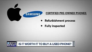 Is it worth it to buy a used phone?