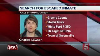 Escaped Fugitive Sought In East Tennessee