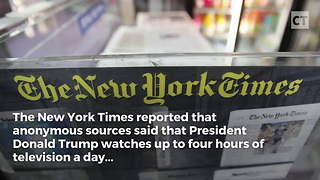 Trump's Morning Routine Reported - Video