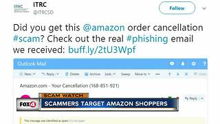 Lee County Sheriff's Office warn about Amazon scam - Video