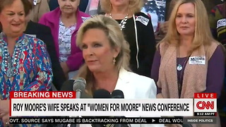 Roy Moore's Wife Defends Her Husband Amid Allegations, Criticizes Washington Post - Video