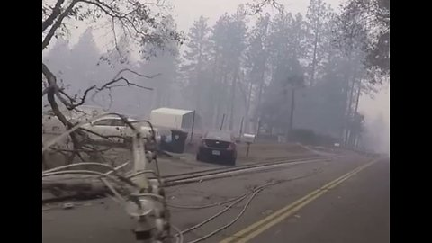 Camp Fire Destroys Homes in Paradise, California