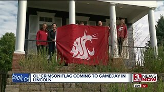 Ol' Crimson Flag coming to GameDay in Lincoln