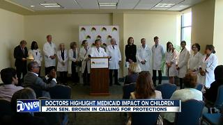 Doctors highlight medicaid impact on children - Video