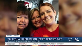 Daughter of Tahlequah teacher shares her mother's battle with COVID-19