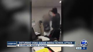 Disturbing video shows middle school attack - Video
