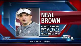 Neal Brown could be top candidate for UA football job - Video