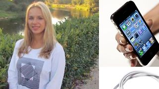 Russian Woman Electrocuted After Dropping Apple I-Phone In Bathtub  - Video