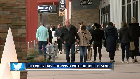 Black Friday shopping with a budget in mind