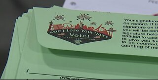 Results slow in NV's first mail-in ballot statewide primary