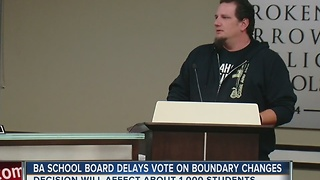 Broken Arrow vote delayed - Video