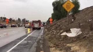 Highway 58 pileup snarls traffic in Central Bakersfield - Video