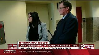 Jury deliberating in Shannon Keper's trial - Video
