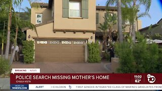Search warrant served four months after disappearance of Chula Vista mom