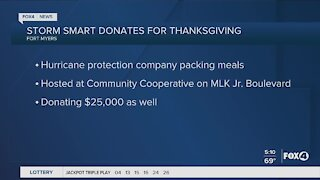 Storm Smart donates Thanksgiving meals