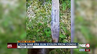 Bayonet swiped from home during open house - Video