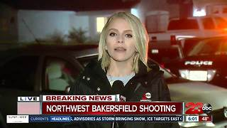 Bakersfield Police are investigating a shooting in northwest Bakersfield