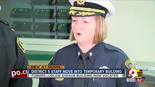 Tour Cincinnati Police District 5's new temporary home - Video