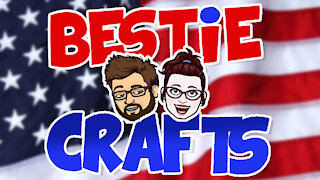 Bestie Crafts - Fun Craft 4th of July Banner making tutorial