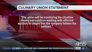 Culinary union responds to report of Mandalay Bay laying off workers
