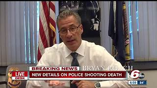 IMPD Chief Roach gives updates on three investigations related to the shooting death of Aaron Bailey
