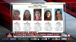Four children found safe in Manatee County AMBER Alert - Video