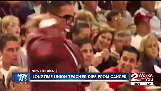 Longtime Union teacher dies from cancer - Video