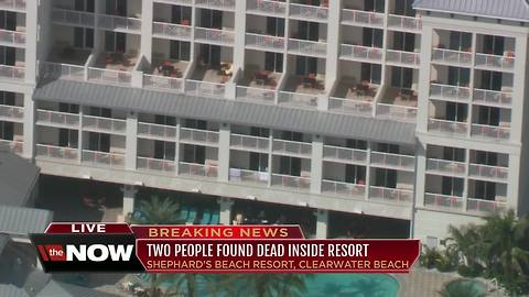 2 people found dead at Shephard's Beach Resort in Clearwater