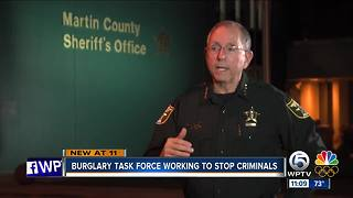 South Florida Task Force stops burglars - Video