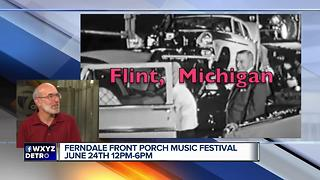Ferndale Front Porch Music Festival June 24 - Video