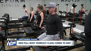 Working out at WNY's only Lagree studio - Video