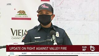 Update on fight against Valley Fire