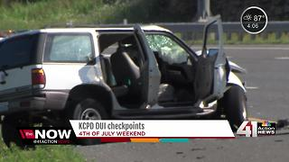 KCPD to conduct DUI checkpoints for July 4 - Video