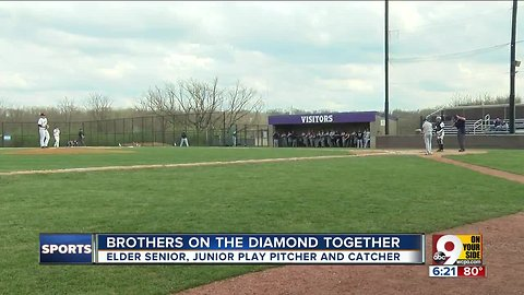 Brothers on the diamond together