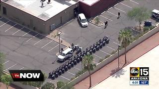 Procession held for fallen DPS Trooper Tyler Edenhofer - Video