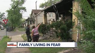 Family in hiding after what officials call worst case of witness intimidation - Video