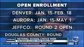 Colorado offers open enrollment for students