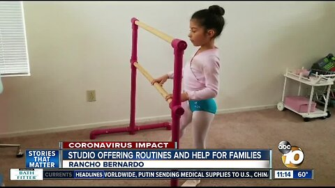 Studio offering routines and help for families