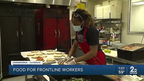 Six West Baltimore restaurants provide catered lunches to University of Maryland, Baltimore workers
